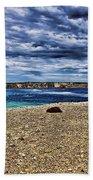 Southern Coastline V6 Beach Towel