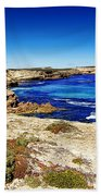 Southern Coastline V7 Beach Towel