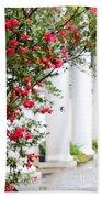 Southern Home - Digital Painting Beach Towel