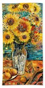 Southern Sunshine Beach Towel