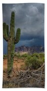 Southwest Monsoon Skies  Beach Towel