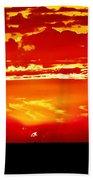 Southwest Sunset Beach Towel by Robert Bales