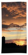 Water Towers On Southwold Common Beach Towel