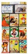 Souvenir Copies Of Old Spanish Beach Towel
