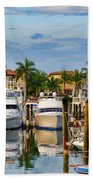 Soverel Harbour Marina Beach Towel