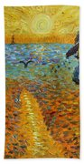 Sower Of Squiggles Beach Towel