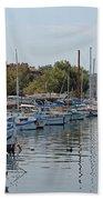 Sozopol Harbour Bulgaria. Beach Towel