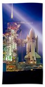 Space Shuttle Columbia Beach Towel