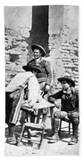Spain Cowboys, C1875 Beach Towel
