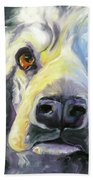 Spaniel In Thought Beach Towel
