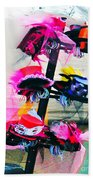 Spanish Town Parade Hats Beach Towel