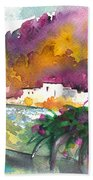 Spanish Village By The River 02 Beach Towel