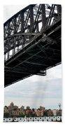 Spanning Sydney Harbour Beach Towel by Kaye Menner