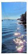Sparkles And Twinkles Beach Towel
