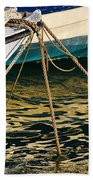 Sparrow At Lyme Regis Beach Towel