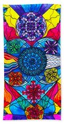Speak From The Heart Beach Towel