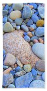 Speckled Stones Beach Towel