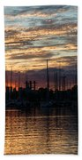 Spectacular Sky - Toronto Beaches Marina Beach Towel