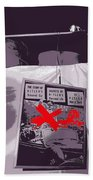 Spectators  Circus Tent Auction Adolf Hitler's 1941 Mercedes  Scottsdale Arizona 1973-2009 Beach Towel
