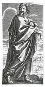 Speusippus, Ancient Greek Philosopher Beach Towel