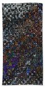 Spex Affirm Abstract Art Beach Towel