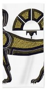 Sphinx - Mythical Creature Of Ancient Egypt Beach Towel