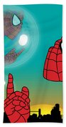 Spiderman 4 Beach Sheet