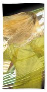 Spinning By Jan Marvin Beach Towel