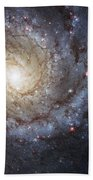 Spiral Galaxy M74 Beach Towel