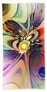Spiral Mania Beach Towel