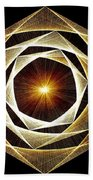 Spiral Scalar Beach Towel