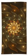 Spiral Wings Beach Towel