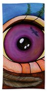 Spirit Eye Beach Towel