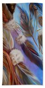 Spirit Feathers Beach Towel