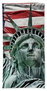 Spirit Of Freedom Beach Towel