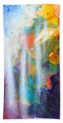 Spirit Of Life - Abstract 5 Beach Towel
