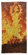 Spirits Of Sati Beach Towel