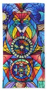 Spiritual Guide Beach Towel by Teal Eye  Print Store
