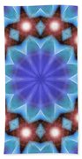Spiritual Pulsar K1 Beach Sheet by Derek Gedney