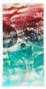 Spirtuality Of The Planet Beach Towel by Yael VanGruber