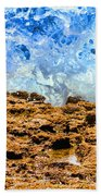 Splash In La Jolla By Diana Sainz Beach Towel
