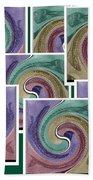 Splash Of Colors Beach Towel