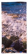 Splashes Beach Towel