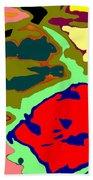 Splatter  Beach Towel by Joseph Baril