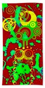 Splattered Series 10 Beach Towel