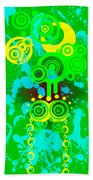 Splattered Series 3 Beach Towel