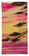 Splendid Sunset Bay Beach Towel