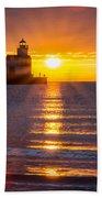 Splendour Rising Beach Towel