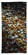 Split Pea Abstract Beach Towel