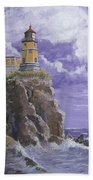 Split Rock Magic Beach Towel